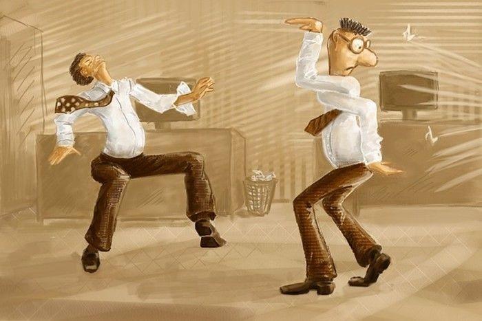 Картинки странные танцы