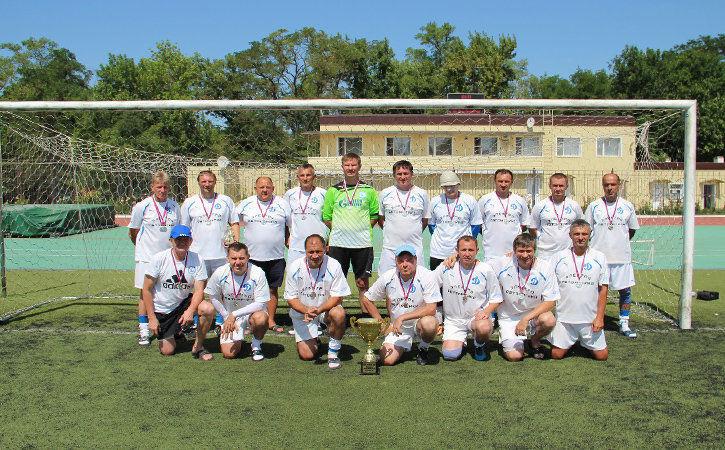 Ветераны «Динамо»— чемпионы страны
