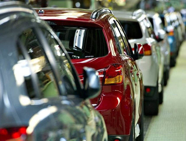 Дорожают автомобили к новому году