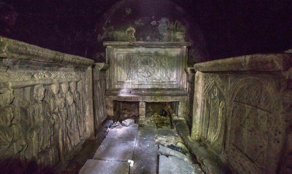 ВТурции контрабандисты пытались реализовать гробницу соскелетом за $4 млн