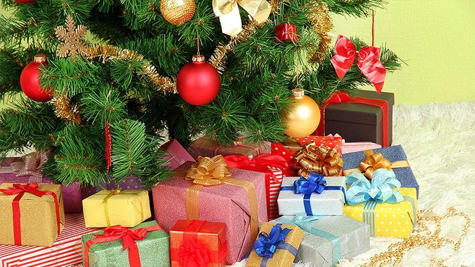 Новогодние картинки с подарками и елочкой, картинки новый
