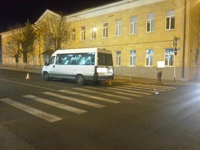 В Ставрополе маршрутка проехала по ноге школьника