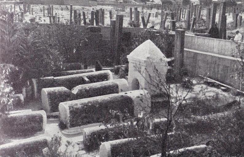 ВДербенте при археологических раскопках найдено мусульманское кладбище конца VIII—IX вв.еков
