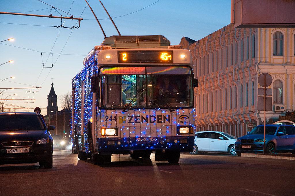 Проезд вгородском транспорте Ставрополя подорожает сНового года