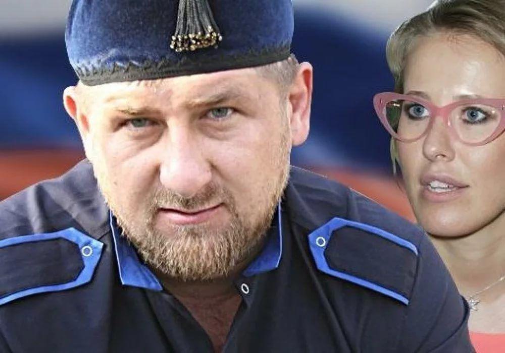 Собчак устроила вЧечне единый пикет заправозащитника Оюба Титиева