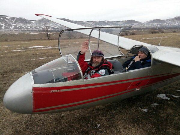 Федор Конюхов планирует побить рекорд высоты полета напланере вСтаврополье